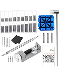 Watch Link remover Kit with User Manual – Watch Spring Band Tool and Link Remover with Watch Pin for Watch Repair