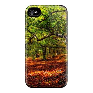 Fashionable Style Case Cover Skin For Iphone 4/4s- A Forest For A Rest