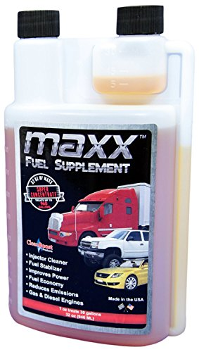 CleanBoost® Maxx™ 32oz Fuel Treatment for Gas & Diesel Fuel – Treats 960 Gallons