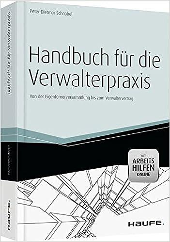 Handbuch Für Die Verwalterpraxis Mit Arbeitshilfen Online Haufe