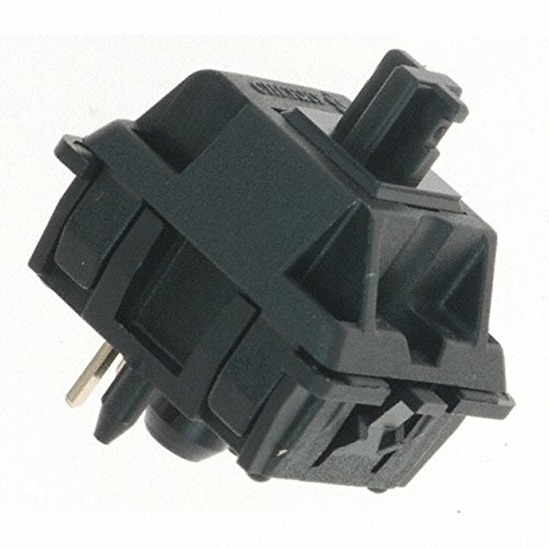 Cherry MX switches - DIY Mechanical Keyboard PCB mount (BLACK, 50 pcs)