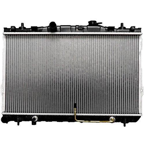 Scitoo 2387 Radiator fits for 2001-2006 Hyundai Elantra GLS/GT Hatchback 2.0L 2003-2007 Hyundai Tiburon GS/GT/SE/Base Coupe 2-Door 2.0L 2.7L