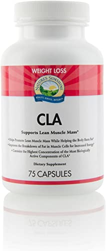 Nature s Sunshine CLA 75 Softgels