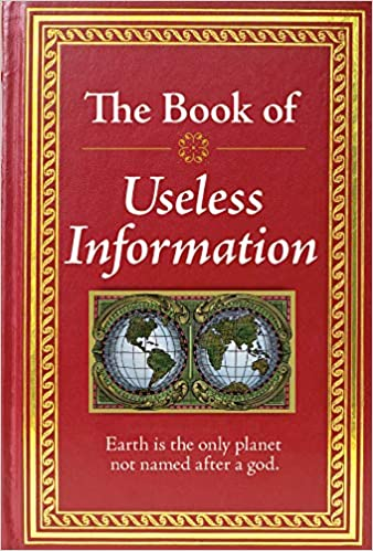 Image result for The Book of Useless Information