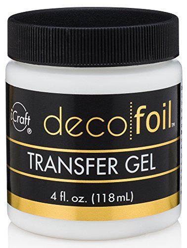 (iCraft Deco Foil Transfer Gel, 4 oz)