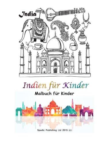 Indien für Kinder: Malbuch für Kinder