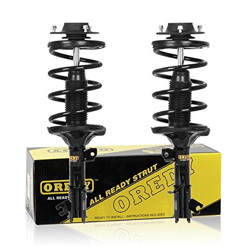 OREDY Front Pair Complete Struts Assembly Shock Coil Spring Assembly Kit Compatible with Hyundai Santa Fe 2001 2002 2003 2004 2005 2006#11283 11284 G57139 G57140 ()