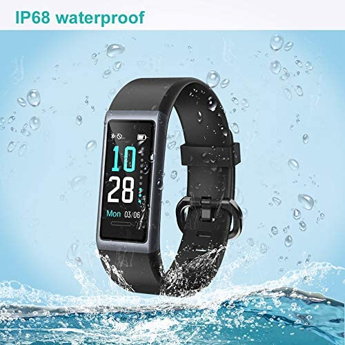 Willful Fitness Tracker 2020 New Version IP68 Waterproof, Fitness Watch Heart Rate Monitor with Calories/Step Counter Sleep Tracker Stopwatch Health Tracker Fit Watch for Men Women Kids 7