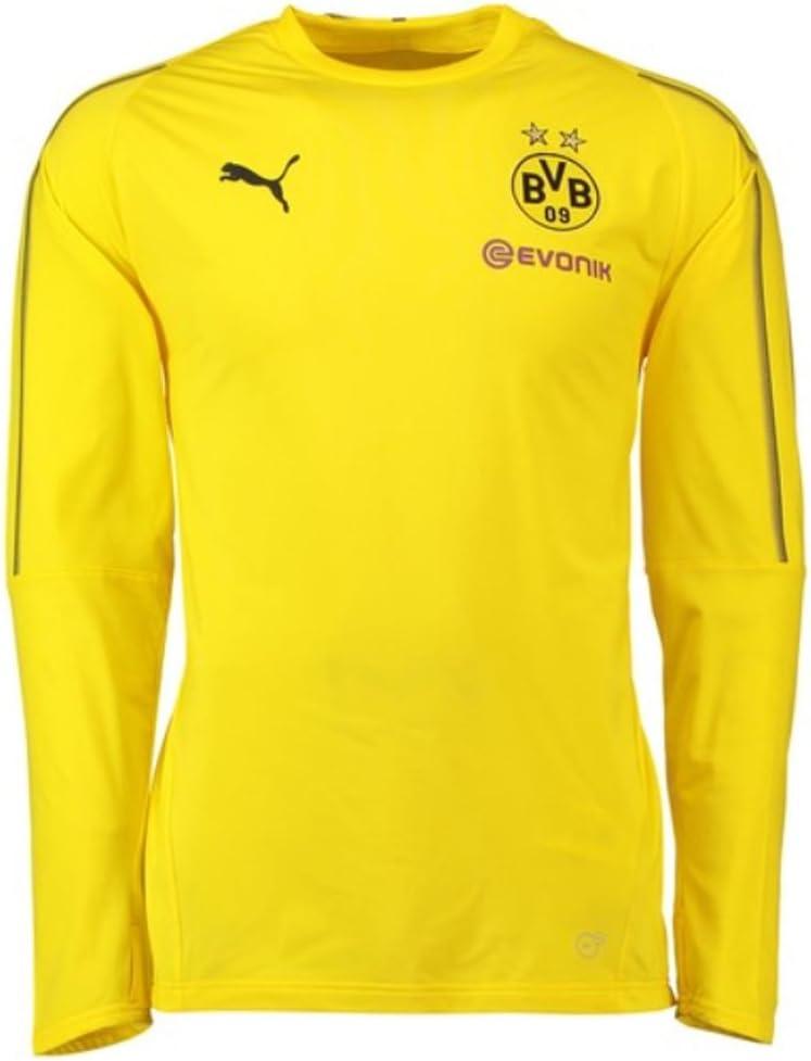 Puma Borussia Dortmund BVB Training Sweat 1819 Junior