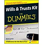 img - for [(Wills and Trusts Kit For Dummies )] [Author: Aaron Larson] [Aug-2008] book / textbook / text book