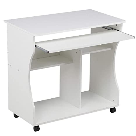 Escritorio de madera para ordenador, mesa de estudio de PC, muebles de oficina en