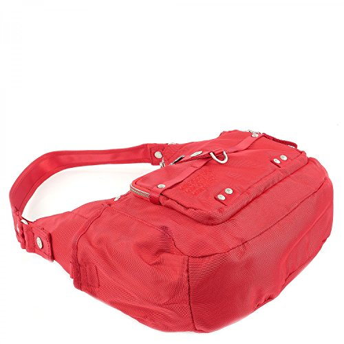 George Gina & Lucy Nylon Swingeling Schultertasche red_red x Descuento Del Proveedor Más Grande sUo3bTh
