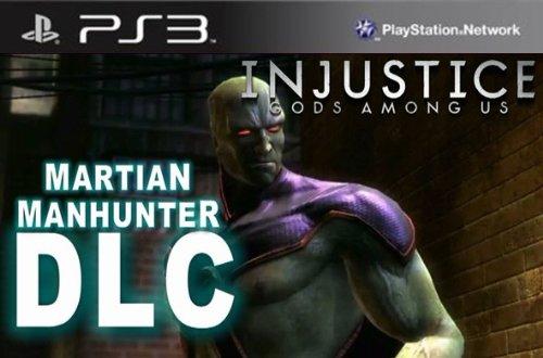 Injustice Gods Among Us: Martian Manhunter DLC - PS3 [Digital Code]