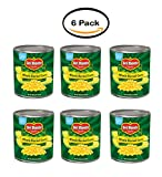 PACK OF 6 - Del Monte Golden Sweet Whole Kernel Corn, 106 oz