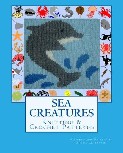Sea Creatures Knitting Crochet Patterns Amazon Angela M