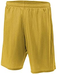 """9"""" Lined Tricot Mesh Shorts"""