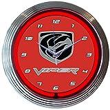 Cheap Neonetics Viper Neon Wall Clock, 15-Inch