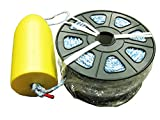 KUFA 400' nonleaded sinking line & 11'' yellow float combo FYS-400