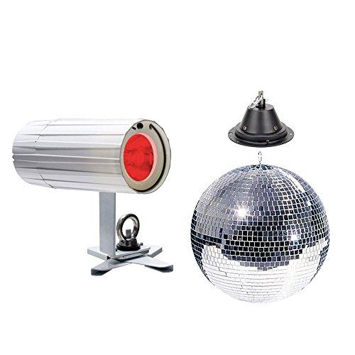 American Dj Mirror Ball - ADJ American DJ 20-Inch Mirror Ball Pack w/Motor & LED Pinspot