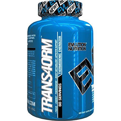 Evlution De La Nutrition Perte De Poids Trans4orm Thermogénique Energizer 60 Servir