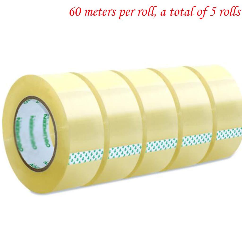 Cassiel Y Tape - 5 Rollen 45MM X 60M Scotch Tape Pro Rolle Für Pakete Und Kartons. B07K78CB9F     | Sehr gute Qualität