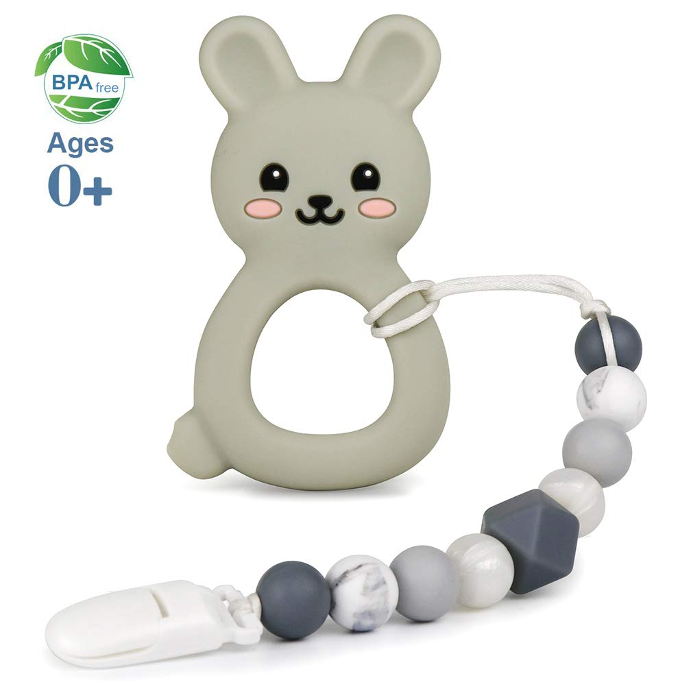 Cute mouse teether