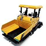 Remeehi 1:40 Scale Metal Asphalt Paver Toy Construction Vehicles Toys Yellow