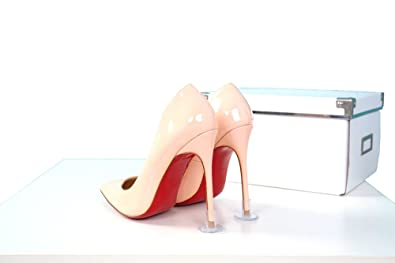 43740c43b3e0 Aohaolee 50 Pairs Lot 2 Color and 3 Size High Heel Protectors Latin ...