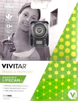 Vivitar DVR906HD HD Life Cam Digital Video Camera Camcorder (Black)