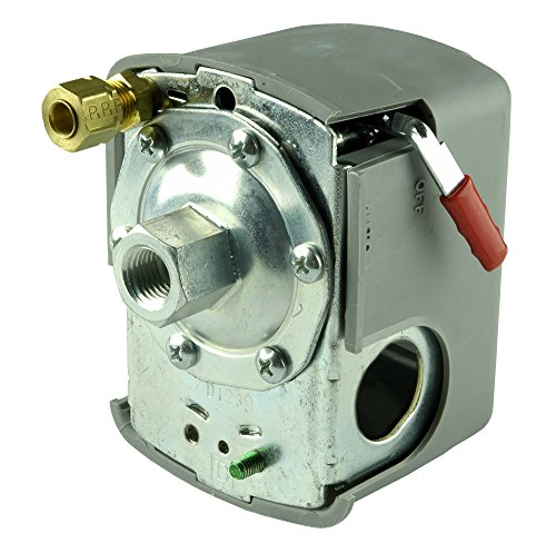 Price comparison product image Hot Max 28071 Air Compressor Pressure Switch With Auto/Off Lever, 95 to 125 PSI