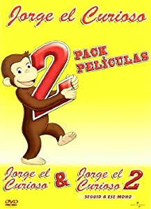 Pack Jorge El Curioso 1 + 2 [DVD]