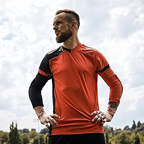 0423a34c81a Buy Storelli ExoShield Gladiator Goalkeeper Jersey Online at Low Prices in  India - Amazon.in
