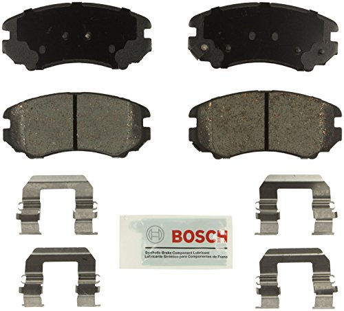 (Bosch BE924H Blue Disc Brake Pad Set with Hardware)