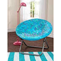 your zone spiker faux fur saucer chair, Teal colors
