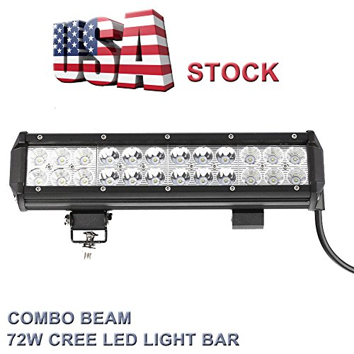 Topcarlight 12 - Inch 72W Cree Led Light Bar, 24 Piece