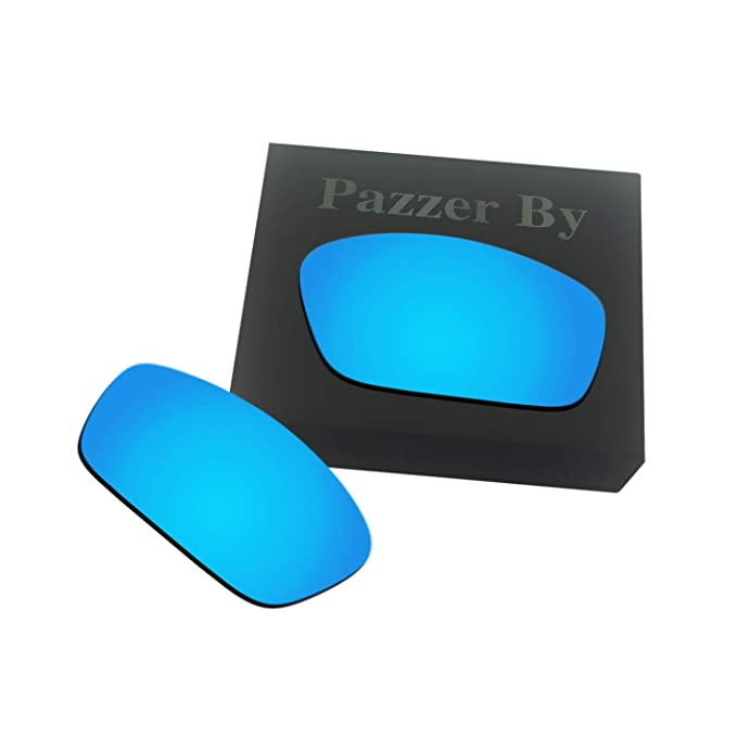 a7cc1ee3e4 Amazon.com  Polarized Replacement Lenses for Oakley Splinter - Ice Blue  Mirrored Coating  Clothing