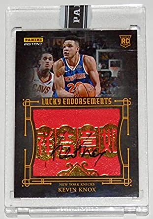 bc1861855 KEVIN KNOX 2019 SIGNED PANINI INSTANT CHINESE NEW YEAR LUCKY ENDORSEMENT  CARD  5