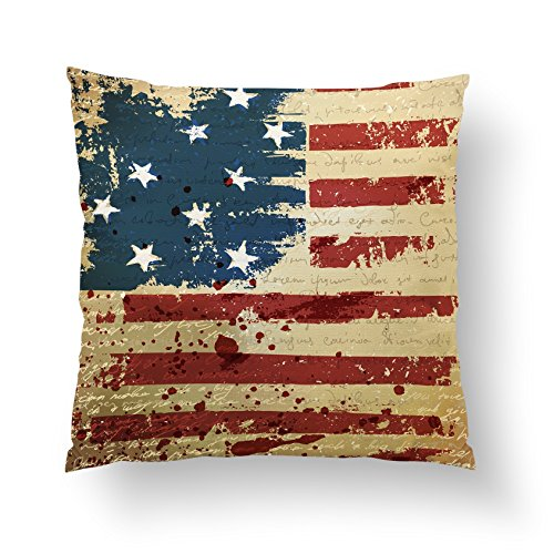American Flag Pillow Cover Throw Pillow Case Decorative Cushion Home Decor Sofa Couch Lounge Bedding