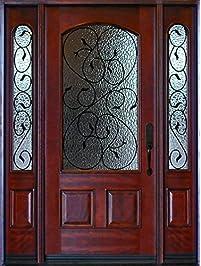 exterior front doors with sidelightsEntry Doors  Amazoncom