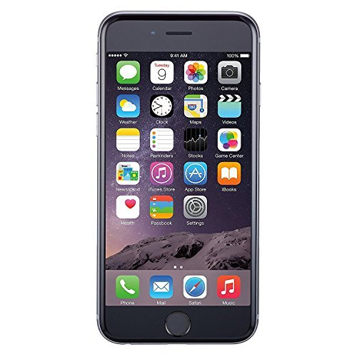 1fb714dedc2a40 Amazon.com: Apple iPhone 6, GSM Unlocked, 16GB - Space Gray (Renewed ...