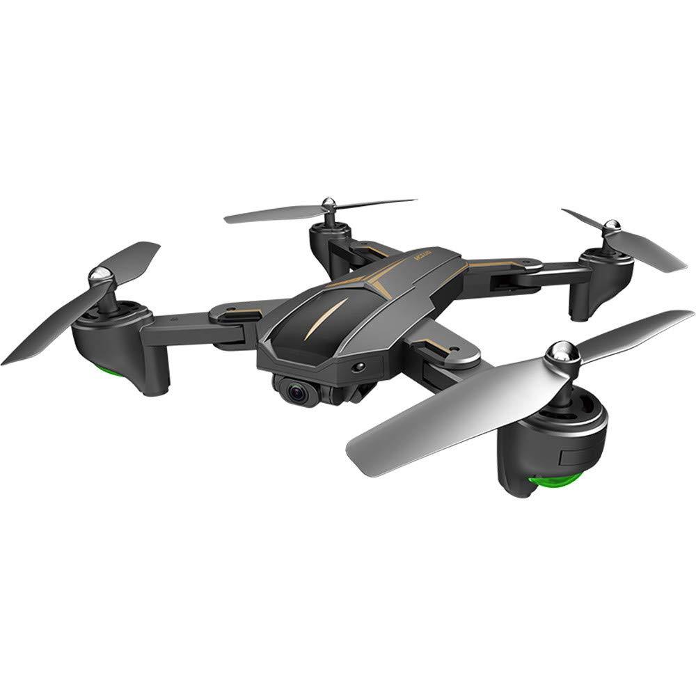 MOZATE VISUO XS812 GPS 5G WiFi FPV 5MP 1080P Wide Angle HD Camera Foldable RC Quadcopter Drone + Two Battery (Black, B)