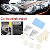 High Gloss Car Liquid Ceramic Coat Set Car Headlights Anti Scratch Polish Liquid Coat Auto Glass Kit Tools MR-FIX9H Gessppo