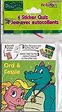 Dragon Tales Sticker Quiz (4ct)