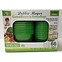 Debbie Meyer 66-Pc. Food Storage Set - Green 16870