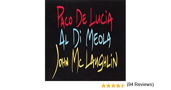 The Guitar Trio ; Paco De Lucia, John McLaughlin, Al Di Meola by ...