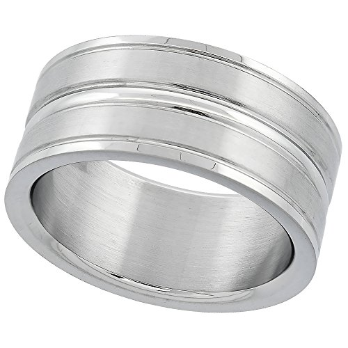 Surgical Stainless Wedding Grooved Center