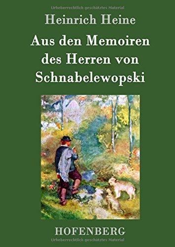 Aus den Memoiren des Herren von Schnabelewopski (German Edition) Text fb2 ebook