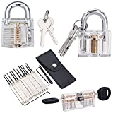 #10: BRAIN TEASER PUZZLE LOCK - Spy | James Bond | Bourne | Houdini | Magician Practice Play Set. Individual Storage Cases For Each Lock. Unique and Cool Gift Idea. Great for ALL Ages. By bridge68.