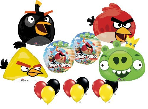 Angry Birds Ultimate Balloon Birthday Party Supply Kit
