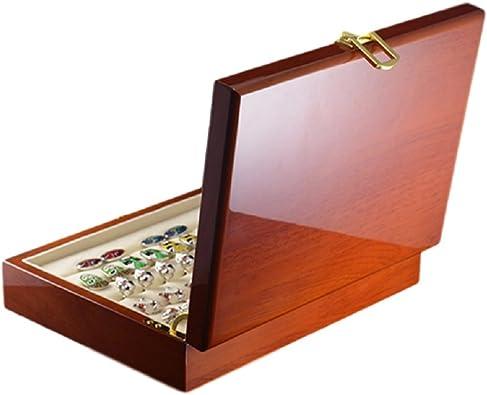 Ducomi Majestic - Caja para Gemelos, Anillos y Joyas en Madera ...